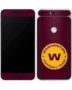 Washington Football Team Logo Google Nexus 6P Skin