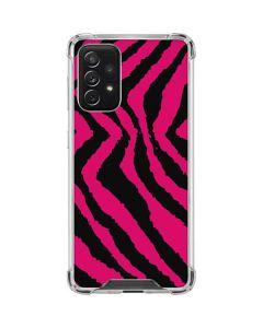 Retro Zebra Galaxy A72 5G Clear Case