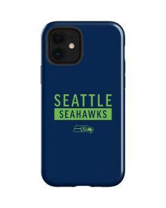 Seattle Seahawks Blue Performance Series iPhone 12 Case