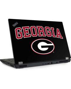 University of Georgia Lenovo ThinkPad Skin