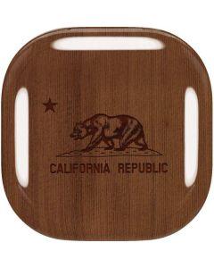 California Wood Flag Galaxy Buds Live Skin