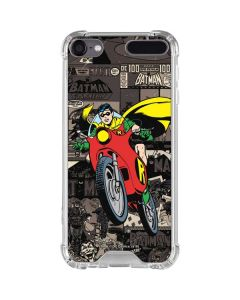 Robin Mixed Media iPod Touch (5th-6th-7th Gen) Clear Case