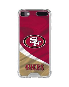 San Francisco 49ers iPod Touch (5th-6th-7th Gen) Clear Case