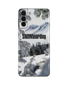 TransWorld SNOWboarding Peaking Galaxy S21 Plus 5G Skin