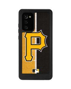 Pittsburgh Pirates Split Galaxy Note20 5G Waterproof Case