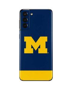 University of Michigan Logo Galaxy S21 Plus 5G Skin