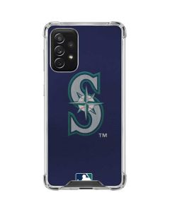 Mariners Embroidery Galaxy A72 5G Clear Case