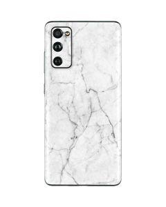 White Marble Galaxy S20 Fan Edition Skin