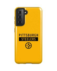 Pittsburgh Steelers Yellow Performance Series Galaxy S21 5G Case