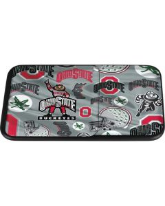 Ohio State Pattern Wireless Charger Duo Skin