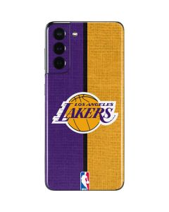 Los Angeles Lakers Canvas Galaxy S21 5G Skin