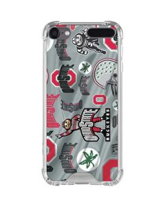 Ohio State Pattern iPod Touch (5th-6th-7th Gen) Clear Case