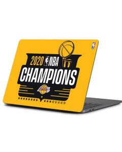 2020 NBA Champions Lakers Apple MacBook Pro 13-inch Skin