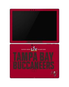 Super Bowl LV Champions Tampa Bay Buccaneers Surface Pro 6 Skin