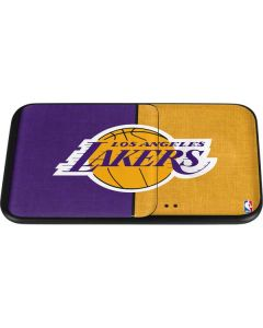 Los Angeles Lakers Canvas Wireless Charger Duo Skin