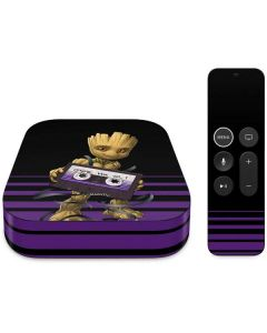 Baby Groot Apple TV Skin
