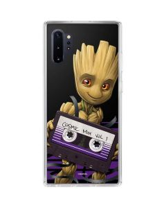 Baby Groot Galaxy Note 10 Plus Clear Case