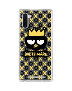Badtz Maru Crown Galaxy Note 10 Clear Case