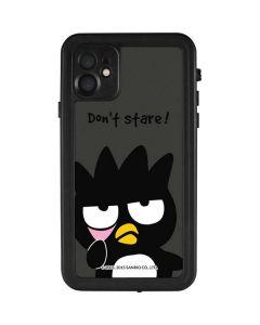 Badtz Maru Dont Stare iPhone 11 Waterproof Case