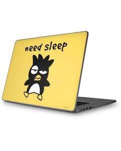 Badtz Maru Need Sleep Apple MacBook Pro 17-inch Skin