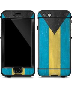 Bahamas Flag Distressed LifeProof Nuud iPhone Skin