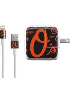 Baltimore Orioles - Cap Logo Blast iPad Charger (10W USB) Skin