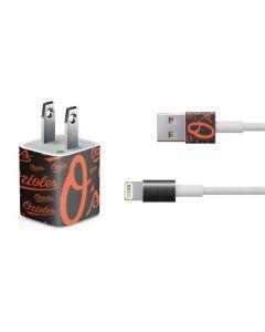 Baltimore Orioles - Cap Logo Blast iPhone Charger (5W USB) Skin