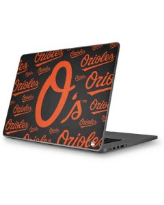 Baltimore Orioles - Cap Logo Blast Apple MacBook Pro 17-inch Skin