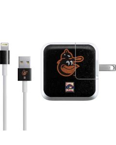 Baltimore Orioles - Cooperstown Distressed iPad Charger (10W USB) Skin
