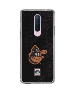 Baltimore Orioles - Cooperstown Distressed OnePlus 8 Clear Case