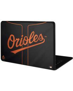 Baltimore Orioles Alternate/Away Jersey Google Pixelbook Go Skin