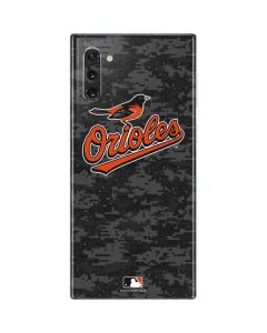 Baltimore Orioles Digi Camo Galaxy Note 10 Skin