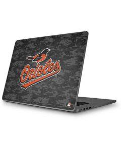 Baltimore Orioles Digi Camo Apple MacBook Pro 17-inch Skin