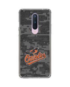 Baltimore Orioles Digi Camo OnePlus 8 Clear Case