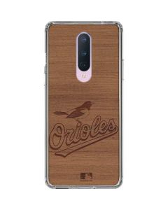 Baltimore Orioles Engraved OnePlus 8 Clear Case