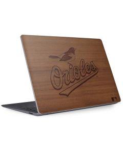 Baltimore Orioles Engraved Surface Laptop 3 13.5in Skin