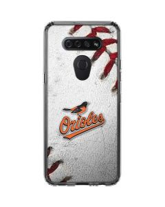 Baltimore Orioles Game Ball LG K51/Q51 Clear Case