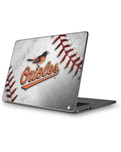 Baltimore Orioles Game Ball Apple MacBook Pro 17-inch Skin