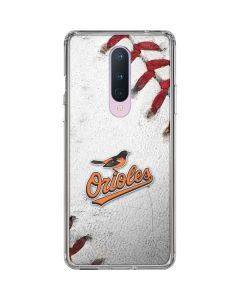 Baltimore Orioles Game Ball OnePlus 8 Clear Case
