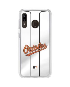 Baltimore Orioles Home Jersey Galaxy A20 Clear Case