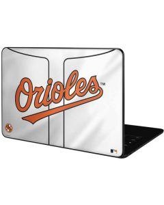 Baltimore Orioles Home Jersey Google Pixelbook Go Skin