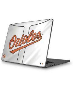 Baltimore Orioles Home Jersey Apple MacBook Pro 17-inch Skin