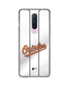 Baltimore Orioles Home Jersey OnePlus 8 Clear Case
