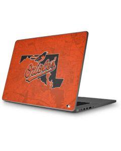 Baltimore Orioles Home Turf Apple MacBook Pro 17-inch Skin