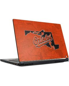 Baltimore Orioles Home Turf MSI GS65 Stealth Laptop Skin