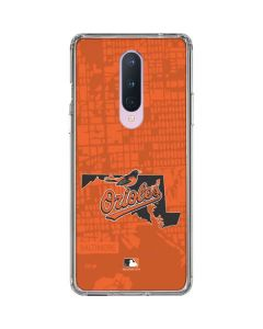 Baltimore Orioles Home Turf OnePlus 8 Clear Case