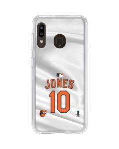 Baltimore Orioles Jones #10 Galaxy A20 Clear Case