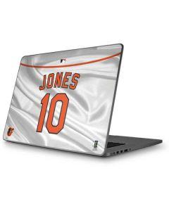 Baltimore Orioles Jones #10 Apple MacBook Pro 17-inch Skin