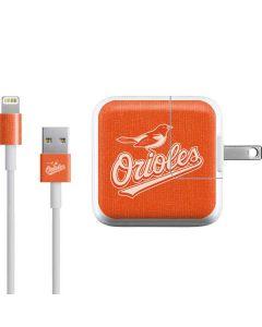 Baltimore Orioles Monotone iPad Charger (10W USB) Skin