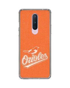 Baltimore Orioles Monotone OnePlus 8 Clear Case